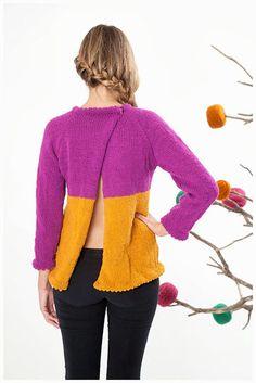Jersey lana 100% hecho a mano Magenta, Lana, Etsy, Pullover, Knitting, Sweater Patterns, Sweaters, Handmade, Fashion