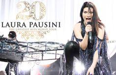 Laura Pausini a Taormina il 18 maggio con , Mengoni & Co.