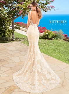 This is a Kitty Chen dress that we will be receiving for our Kitty Chen trunk show. This means this (and other Kitty Chen dresses) will be in our store to order from May 6th-8th ONLY! Mark your calendars! And follow our Pinterest @mycouturebridal to see all the dresses we will be receiving!