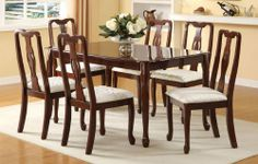 Beautiful Casual Design Cherry Finished Dining Table PD20112 by Click 2 Go. $388.99