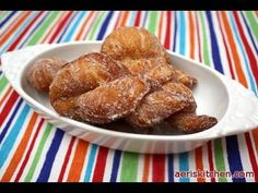 Korean Styled Twisted Donuts (꽈배기 도너츠) - YouTube