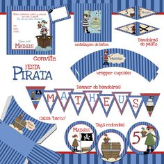 Papelaria - Festa Pirata