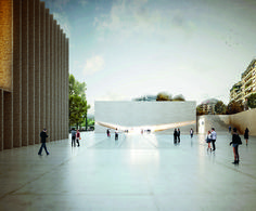 dezain.net • スイス、ローザンヌのニューポール美術館コンペにアイレス・マテウスが勝利 (ArchDaily)...