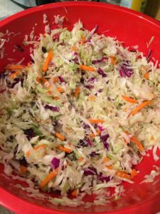 Coleslaw, 21 day fix style