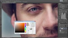 This useful tutorial will show you a quick and very effective way to get rid of bags under the eyes using Photoshop. http://petapixel.com/2014/03/29/tutorial-quickly-remove-bags-eyes-using-curves-photoshop/