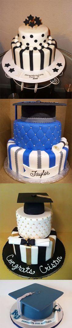 Diseños de pastel de graduación diferentes que seguramente hará que los graduados encantado!