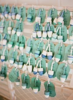 Adorable table cards! Photo from Lauren & Peter  collection by kml photography