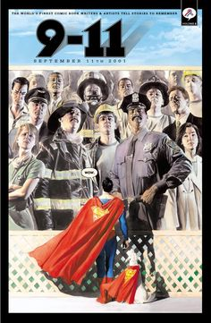 9-11 #2 cover by Alex Ross I have always loved this cover so much!