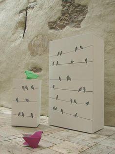 """""""Chest of drawers and dresser"""" design by Jana Nováková"""