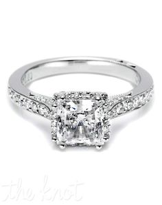 Tacori...really starting to love square cuts