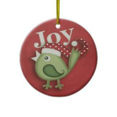 Christmas Robin (2 sided) Ornament Homemade Christmas Decorations, Christmas Crafts, Christmas Ornaments, Holiday Gifts, Holiday Decor, Bumper Stickers, Presents, Robin, Ideas