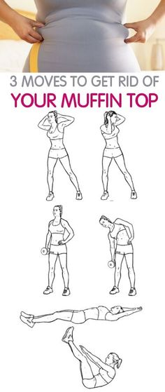 3 moves to get rid of your muffin top