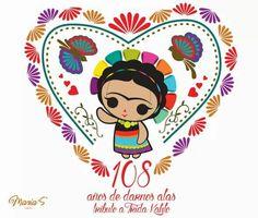 Fridha Birthday Balloons Clipart, Balloon Clipart, Logo Mexicano, Frida Kahlo T Shirt, Mexican Furniture, Mexican Embroidery, Ideas Para Fiestas, Clip Art, Dolls
