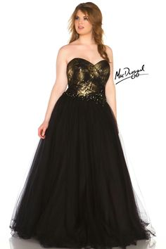 90e131eb Black and Gold dress Dresses To Wear To A Wedding, Cute Prom Dresses, Plus