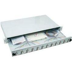 EFB Elektronik Spleißbox LC 50/125 µ 48 Pigtails/ 24 Kupplungen OM3