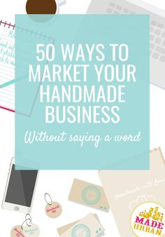 If you don't like selling, talking or having the spotlight on you, you'll get a ton of ideas to silently market your handmade business.