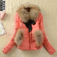 2014 Winter Coat Women Fur Coat Casacos Femininos Desigual Jacket Wadded Down Parkas Thick Plus Cotton-padded Overcoat Outerwear Winter Coats Women, Coats For Women, Sexy Lace Dress, Down Parka, Fur Coat, China, Cotton, Jackets, Down Jackets