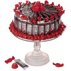Black Forest Candy Cake Bouquet-Black Forest Cake Bouquet for Students A candy bouquet is ideal way to show your college or boarding school student that you are thinking of them. Order Early for FREE Campus Delivery Via Standard Ground Shipping. Candy Arrangements, Candy Centerpieces, Chocolate Centerpieces, Cake Bouquet, Gift Bouquet, Candy Gift Baskets, Candy Gifts, Hershey Cake, Bar A Bonbon