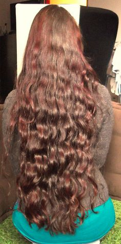 Length shot in March 2013 after Lemon rinse