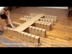 Bedigami Instructional Video, How To Assemble Your Bedigami Cardboard Furniture - YouTube