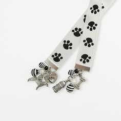 Ribbon Bookmark - Dog Lovers - Puppy Paw Prints - Best Friend Pet Theme - Dog Walker - Pet Sitter - Groomer - Vet Gift