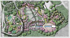 Atlanta Botanical Garden Storza Woods Master Plan