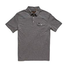 The Ranchero Polo subtly enters the room with its simple, single-button pocket front design but leaves Summer Outfits Men, Summer Clothes, Front Design, Polo Ralph Lauren, Mens Tops, Fashion, Moda, Summer Clothing, Fashion Styles