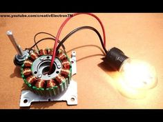 Hi!In this instructable, I'm going to teach you how to convert a dead Brushless DC motor into a powerful 3-phase energy generator.The process is really simple and...