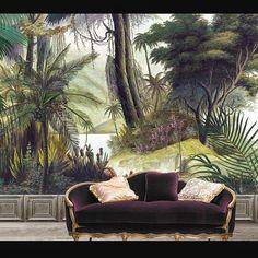 tropical decor home Tropical Home Decor, Tropical Houses, Tropical Colors, Tropical Furniture, Tropical Interior, Tropical Forest, Tropical Design, Estilo Tropical, Wall Wallpaper