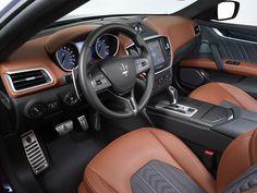 Maserati Ghibli Ermenegildo Zegna interior.