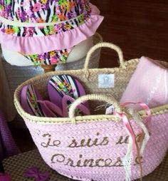 #STRAW BASKET FOR LITTLE PRINCESS
