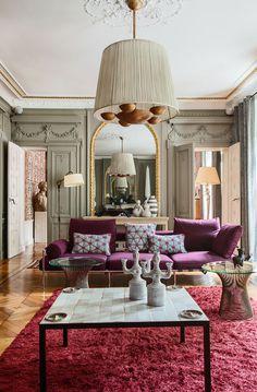 A flamboyant home in Le Marais (desiretoinspire.net)