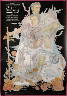 Ludwig (Luchino Visconti, 1972) Japanese design by Yoshimasa Murakami