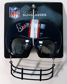 NFL Houston Texans Novelty Sunglasses -- Details can be found by clicking on the image.