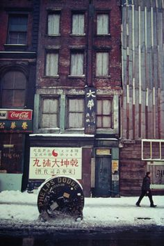 Chinatown  Saul Leiter, ca 1950