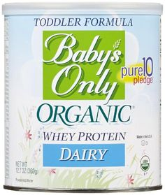 Baby's Only Toddler Formula - Dairy with Whey Protein - Powder - 12.7 oz * More info could be found at the image url.