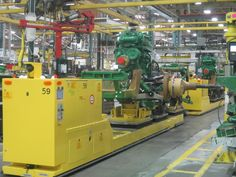 Go behind the scenes in the making of a John Deere tractor in Waterloo, Iowa - then plan a tour to see it for yourself: http://owl.li/uIJyo