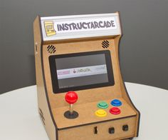 The 'Instructarcade' is a self-made bartop mini arcade with controls for one player. Using the Raspberry Pi and it's official touch display, tons of uses are possible.It's mainly designed to play retro arcade games (MAME), but also emulators for many other systems like SNES, GBA, etc. run nicely. Thanks to the touchscreen also point-and-click adventures can be nicely played with ScummVM. Via WLAN any smartphone can be used as virtual controller, so up to 4 players can play.Originally I was…