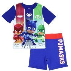 New Lot PJ Masks 4 Piece Pajamas Catboy Gecko 2 Sleepwear Sets Boys Size 2T