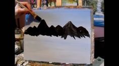 3 steps for painting a mountain on Vimeo