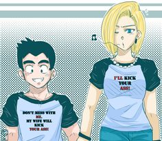 DBZ - Don't mess with my Husband! by CrazyJen