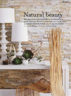 Natural Beauty Style | Home Decorating Ideas, Decoration Pictures