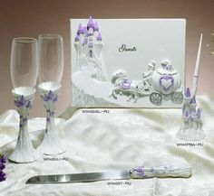 Purple Cinderella Quince Accessories!