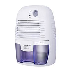 VicTsing Dehumidifier, Portable Air Dehumidifier for Home Intelligent Auto Off, Home Small Dehumidifier for Bedroom, Basements, Office, Wardrobe, Shoes Cabinet - The compact and powerful dehumidifier is a must-have helper that removes moisture from the air. It is perfect for office, bedroom, wardrobe, closet and etc. More Dry Air Extracting moisture from the air and collecting it in the water tank. Enable to absorb moisture up to 250ml per day. Detachable...