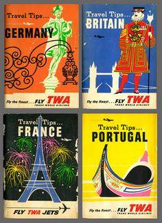 Vintage Travel Guides!