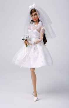 Couture Dolls sells Integrity Toys line of Fashion Dolls, from Fashion Royalty to Jem and the Hollagrams to Poppy Parker, and more. We are a premiere Integrity Toys Dealer. Barbie Bridal, Barbie Wedding Dress, Wedding Doll, Barbie Dress, Barbie Clothes, Wedding Dresses, Barbie Blog, Tulle Wedding, Wedding Bouquet