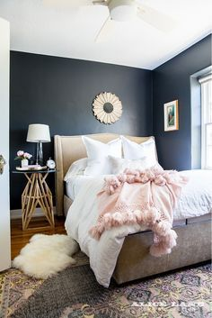 Master Bedroom Colors ben moore violet pearl - modern master bedroom paint colors ideas