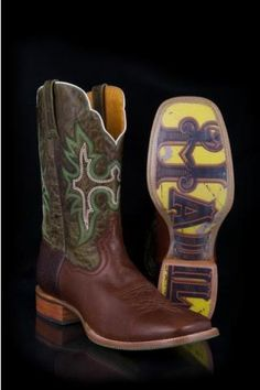 Men's Green Tin Haul Classic Cowboy Boot Western Clothing
