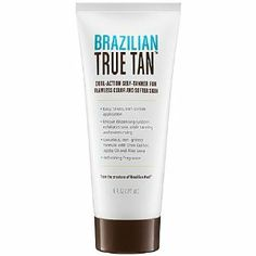 Brazilian Peel Brazilian True Tan 6 oz by Brazilian Peel. $39.00. A dual-action self tanner lotion for flawless color and softer skin. The first key step to ensuring an even tan is proper exfoliation, and the new BRAZILIAN TRUE TAN is making it easier and more efficient to do so by combining the two steps of exfoliation and tanning into one. Developed with an advanced glycolic formula to exfoliate and condition skin to ensure an even, natural-looking tan, this is a...
