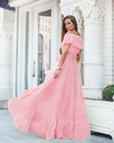 Yellow dress for a lady who want to look always great New Arrivals Yellow Dress, That Look, Tulle, Shoulder Dress, Formal Dresses, Chic, Lady, Skirts, Fashion